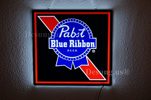 Used, Desung.us Revolutionary Pabst Blue Ribbon PBR LED Neon for sale  Delivered anywhere in USA