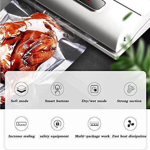 ALY Machine sous Vide Alimentaire Appareil de Mise sous Vide Automatique Humide et Sec avec 10Pcs Sacs sous pour Conserver Les Viandes Fruits Légumes