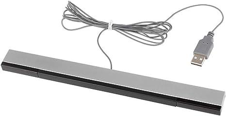 Lavuky WS05 - Barra con Sensor USB para Nintendo Wii, Wii y Wii U: Amazon.es: Videojuegos