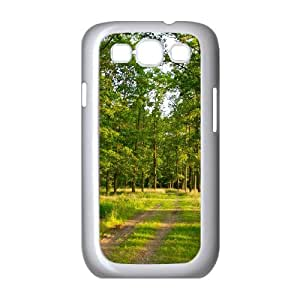 Summer Forest Samsung Galaxy S3 Cases, Case for Samsung Galaxy S3 Mini for Men Protector with Design Okaycosama - White
