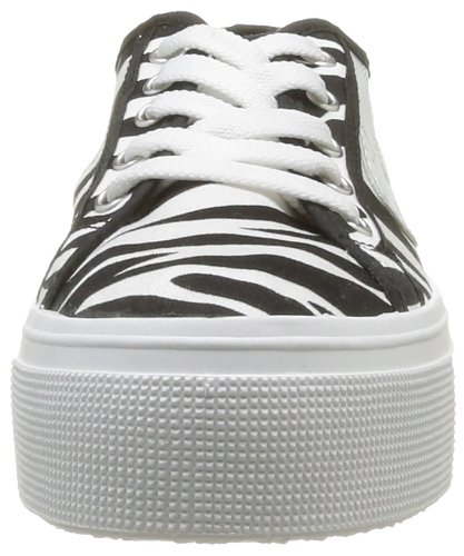 No Box Alma - Zapatillas de Deporte de tela mujer negro - Noir (Zebra)