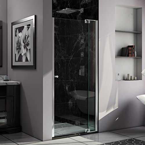 Custom Pivot Shower Door - 8