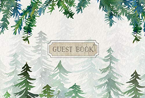 - Guest Book Cabin Edition