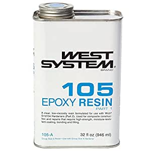 WEST SYSTEM 105A Epoxy Resin (Quart)