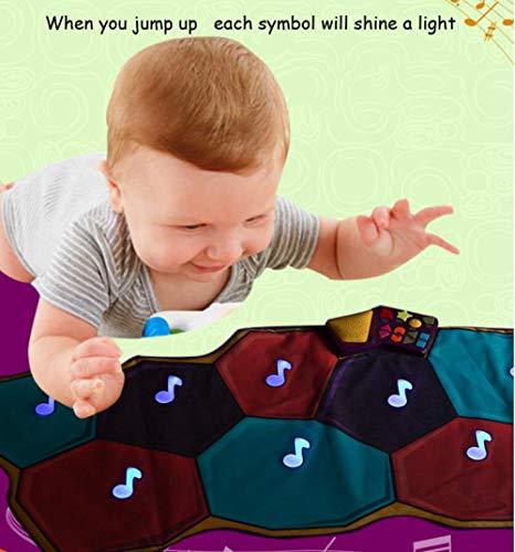 QXMEI Children's Music Dance Carpet Video Game Blanket Music Dance Blanket 66138 cm by QXMEI (Image #4)
