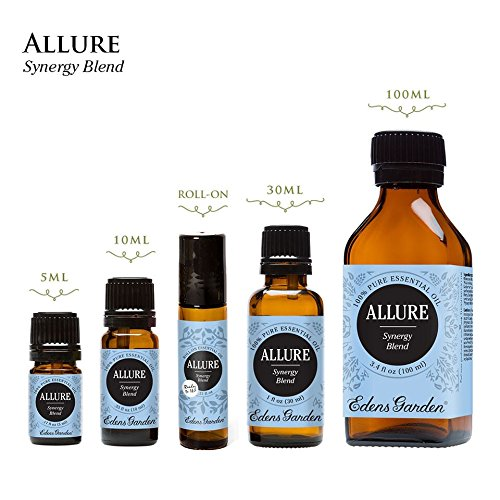 Allure Synergy Blend Essential Oil by Edens Garden- 100 ml (Comparable to Whisper by DoTerra)