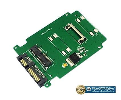 amazon com msata to sata adapter computers accessories