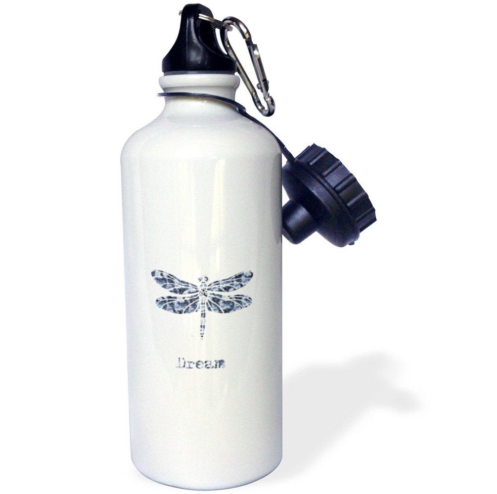 3dRose wb/_179157/_1Blue Nautical Beach Sports Water Bottle 21 oz Multicolor