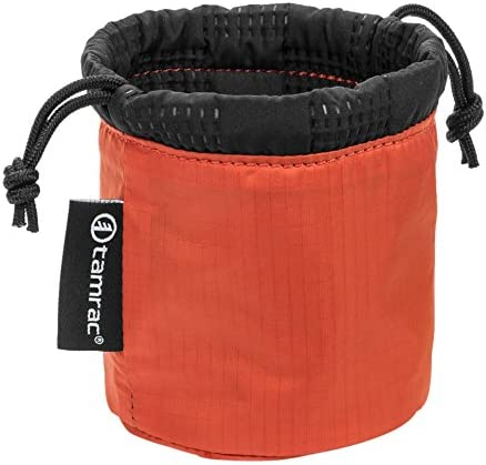Tamrac Goblin Lens Pouch 1.2  Lens Bag Easy-to-Access Protection Quilted Ocean Drawstring