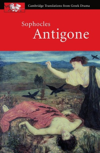 the tragedy in antigone a play by sophocles Part of the internet classics antigone by sophocles written 442 bce let thy fancy play with 'judgment' as it will.