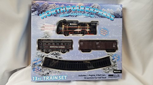 NORTH POLE EXPRESS 13 PIECE TRAIN SET BATTERY (North Pole Express)