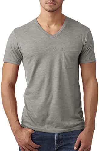 Next Level mens CVC Tee with Pocket (6245)