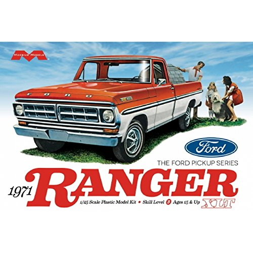 cale 1971 Ford Ranger Pickup Truck Model Kit Vehicle ()