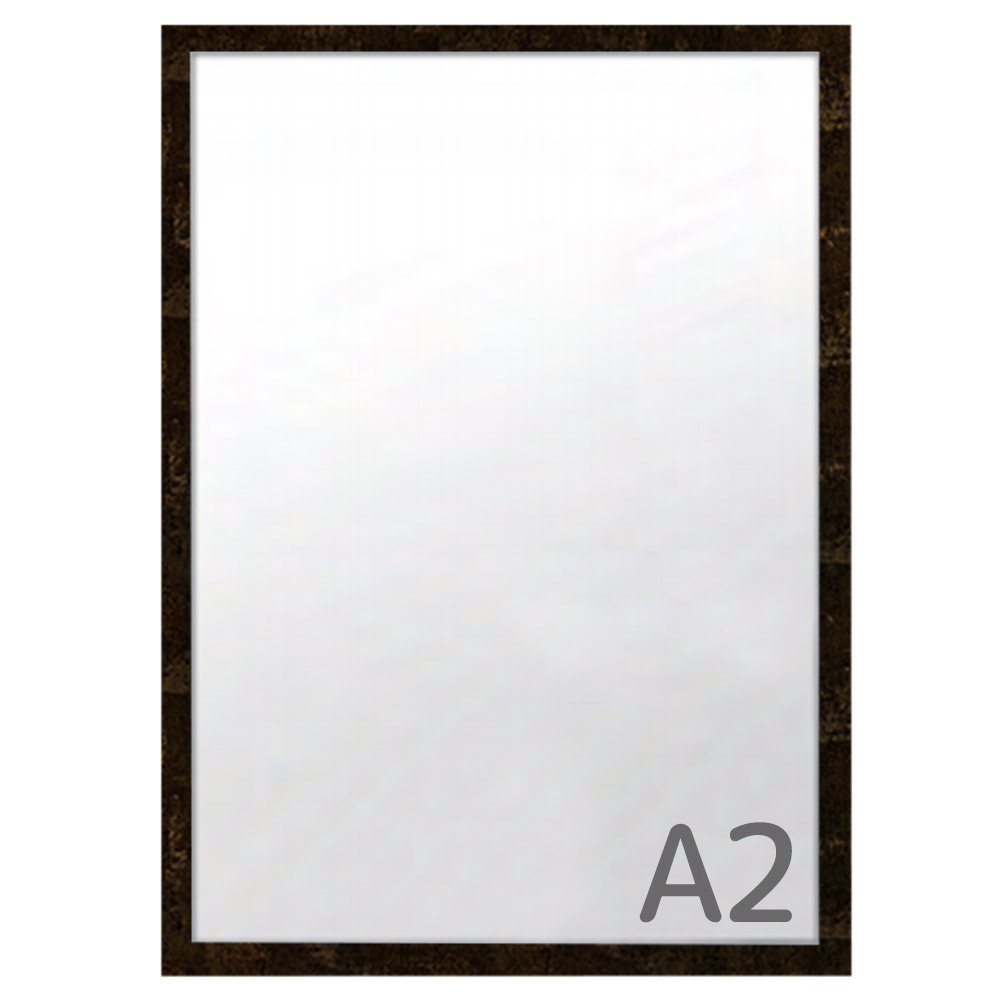 カスタムアルミフレーム ワイド30 A2サイズ【大理石抽象系】 F-464 フレームの幅が広いポスターパネル 豊富なサイズカラー   B07D98SYMD