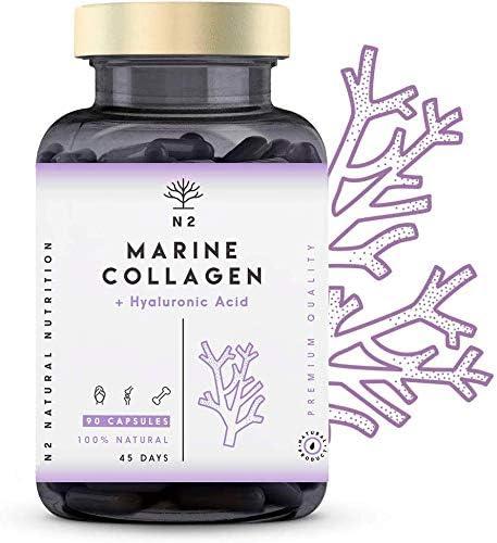 Colágeno Marino Hidrolizado Magnesio Acido Hialurónico Vitamina C ...