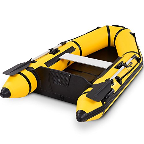 Goplus 2 or 4-Person Inflatable Dinghy Boat Fishing Tender Raft