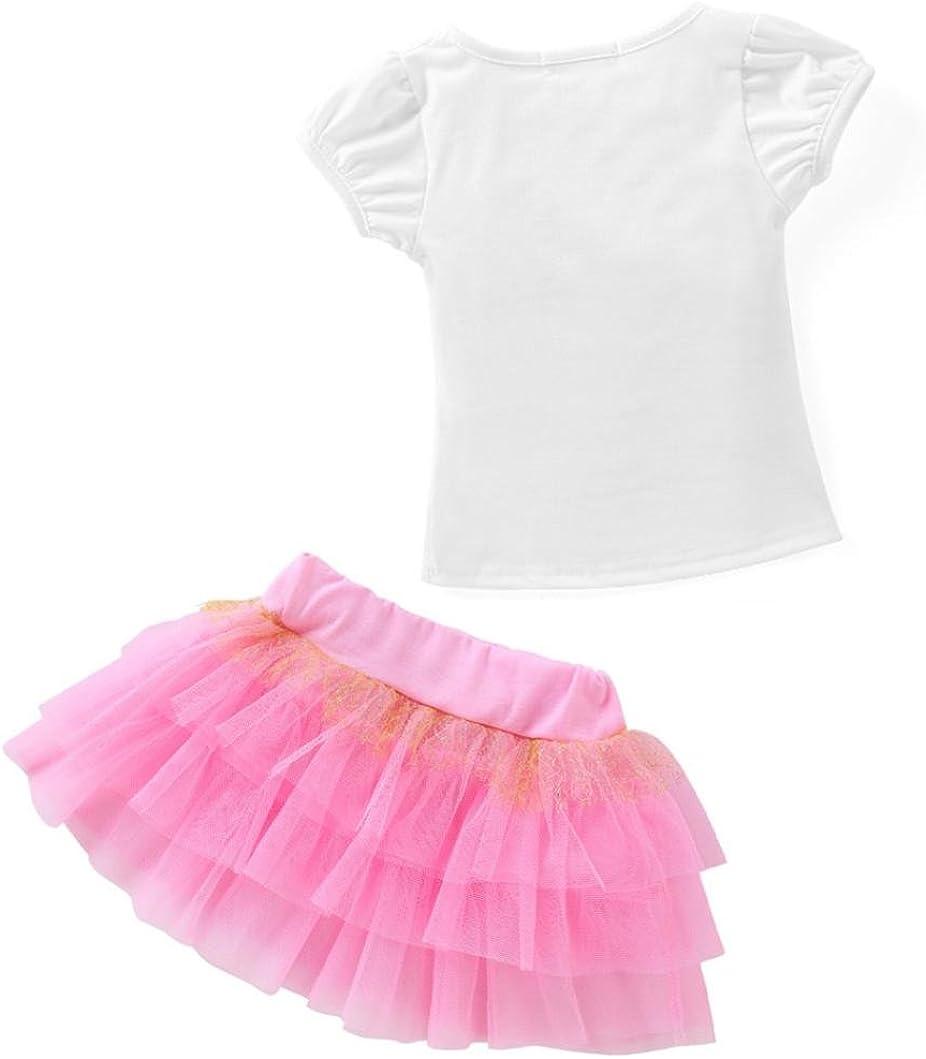 George A Ltd Girls 2-Piece Skirt Set Outfit
