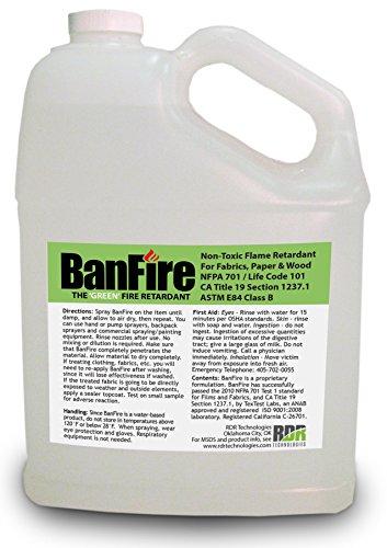 BanFire Spray-On Fire Retardant - 1 Gallon