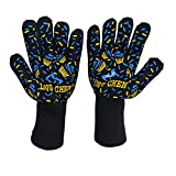 Preeyawadee HIFUAR 1 Pc Heat Resistant Barbecue Oven Mitt Glove Kitchen BBQ Grill Hot Surface Handler Cooking Tool Accessories