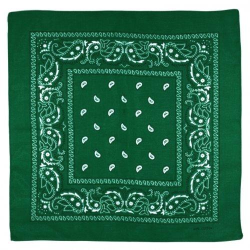 verde scuro bandana scuro Sciarpa Sciarpa verde bandana Sciarpa bandana TqgzA