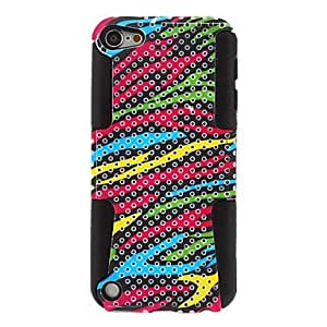 Buy Colored Stripes Pattern Detachable Hard Case for iPod Touch 5