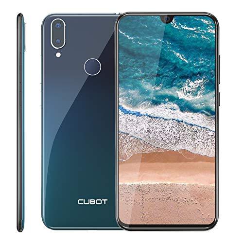 CUBOT R19 4G Smartphone ohne Vertrag, 5.71″ (18:9) Touch Display, 128GB Erweiterbar, 3GB Ram+32GB Rom, Android 9.0, Dual SIM (DREI Slots), 13MP+8MP Dual kameras, Fingerabdrucksensor und Face-Unlock