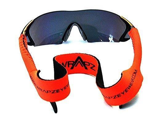 Wrapz Orange Neoprene Floating Glasses Retaining Strap