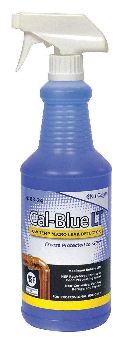 NU-CALGON 4183-24 QUART GAS LEAK DETECTOR CAL-BLUE LT (LOW TEMP) MC265196