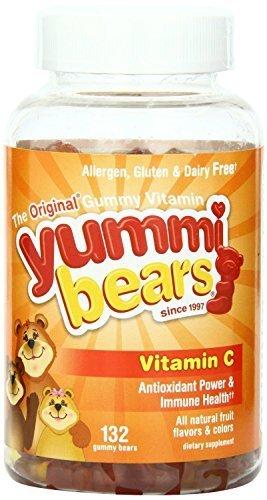 Hero Nutritional Products Vitamin C Yummi Bears (132 Count) by Hero Nutritional Products
