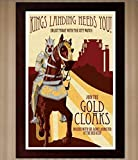 King's Landing Recruitment Poster - Game of Thrones - 11x17