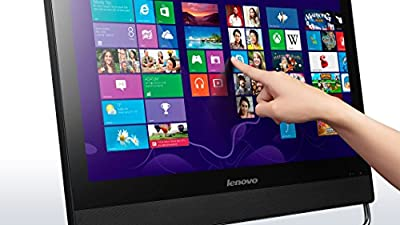 """Lenovo ThinkCentre M93Z FHD 23"""" Touch Screen All in One Desktop Computer (Intel Quad Core i5-4440S, 8GB Ram, 1TB HDD, WiFi, DVD-RW, Camera) Win 10 Pro (Certified Refurbished)"""