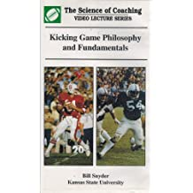 Kicking Game Philosophy and Fundamentals with Bill Snyder, Kansas State University