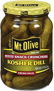 product image for Mt. Olive, Kosher Dill Petite Snack Crunchers (Pack of 4)