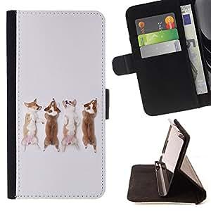 King Case - FOR Sony Xperia Z3 Compact - Don??t cry - Prima caja de la PU billetera de cuero con ranuras para tarjetas, efectivo Compartimiento desmontable y correa para la mu?eca