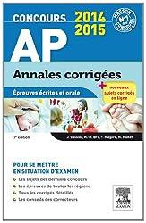 Concours AP Annales corrigées: Épreuves écrites et orale