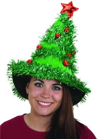 Women's Light-Up Christmas Tree Hat