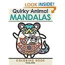 Quirky Animal Mandalas Coloring Book