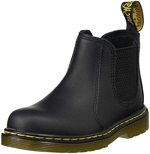 Dr. Martens Unisex shenzi infants pull on boot, black, 3 UK (4 M US 4 Toddler)