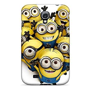 Best Cell-phone Hard Cover For Samsung Galaxy S4 With Provide Private Custom Beautiful Minion Pictures CASE