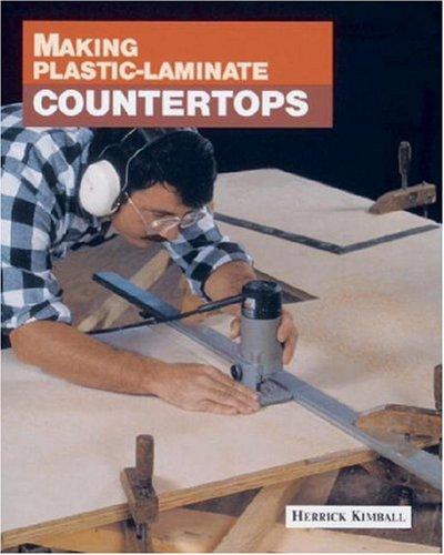 Making Plastic-Laminate Countertops