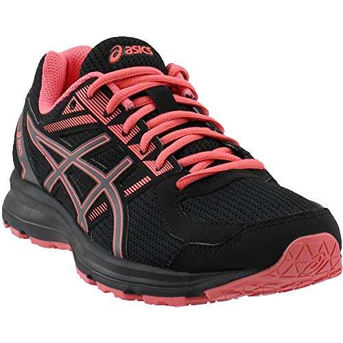 ASICS Women's Jolt Running Shoe - T7K8N.9097 (Black/Carbon/Peach - 8)