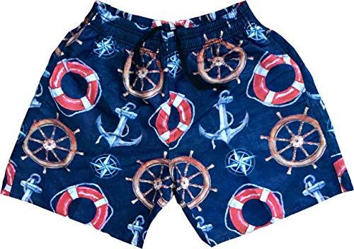 Shorts Bermuda Tactel Moda Praia Estampado