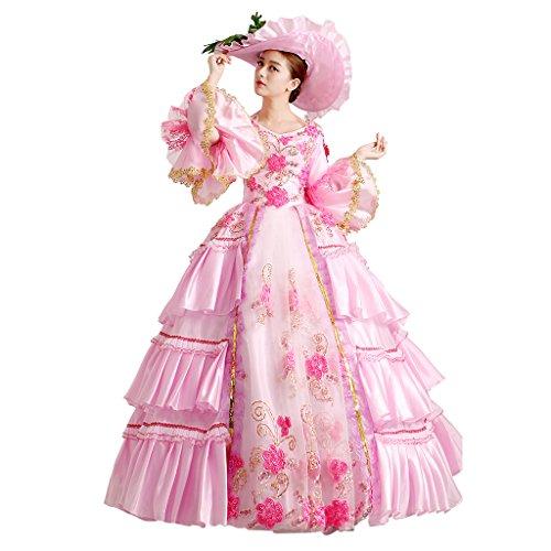 Prinzessin kleid damen pink