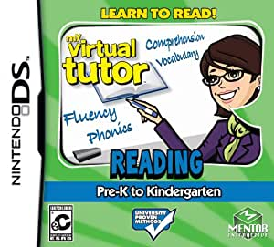 My Virtual Tutor: Reading Adv. Pre K- Kindergarten - Nintendo DS Standard Edition