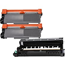 (1 Drum + 2 Toner) Inktoneram® Replacement High Yield toner cartridges & drum for Brother TN660 TN630 DR630 for Brother DR-630 TN-660 TN-630 Set MFC-L2700DW MFC-L2720DW MFC-L2740DW HL-L2300D HL-L2320D HL-L2340DW HL-L2360DW HL-L2380DW DCP-L2520DW DCP-L2540DW
