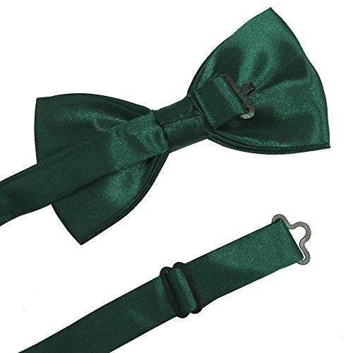 QA/_ Unisex 3 Clips Clip-on Elastic Y-Shape Adjustable Suspenders Bowtie Set Na