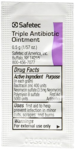 Triple Antibiotic Ointment .5gr Packets (Box of - Neomycin Ointment Antibiotic