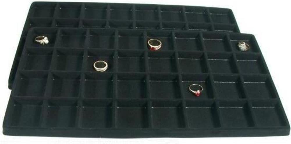 8 SLOT FLOCKED INSERT FOR LARGE DISPLAY TRAY