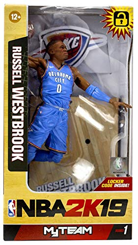 McFarlane NBA 2K19 Series 1 Russell Westbrook (Oklahoma City Thunder)