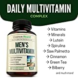Mens-Multivitamin-with-Zinc-Selenium-Vitamins-A-C-D-E-B1-B2-B3-B5-B6-B12-Spirulina-Calcium-Lutein-Magnesium-Saw-Palmetto-Green-Tea-Biotin-Natural-Non-Gmo-Multivitamins-for-Men